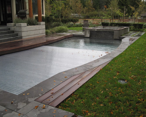 Automatic Rigid Pool Cover Ideas Pictures Remodel And Decor