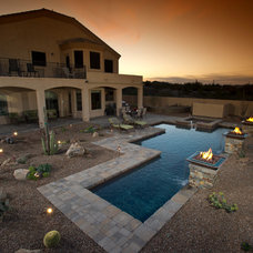 Southwestern Pool by California Pools & Landscape