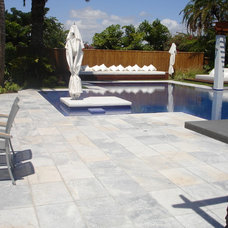 Modern Swimming Pools And Spas by Olympic Stone & Marble Supply, Inc.