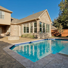 Traditional Pool by DFW Improved
