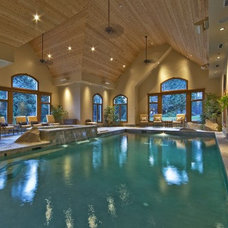 Traditional Pool by ARTifact Interior Design