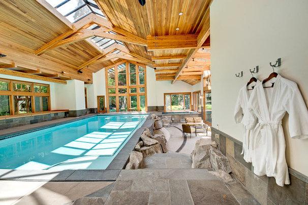 Modern Pool by FJU Photography