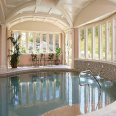 Traditional Pool by Interiors by Becky Spier, Inc.