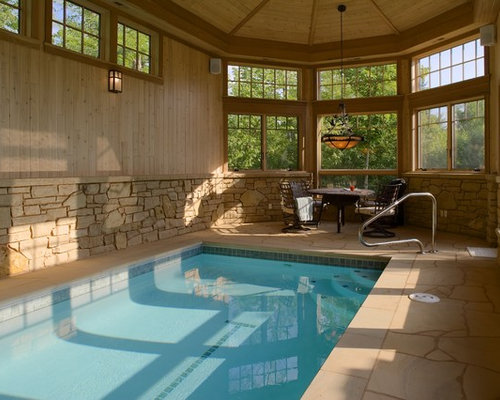Small Indoor Pool Home Design Ideas Pictures Remodel And Decor