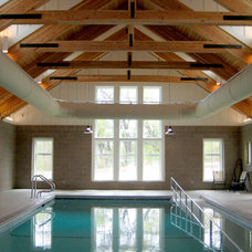 Contemporary Pool by Kell Architects
