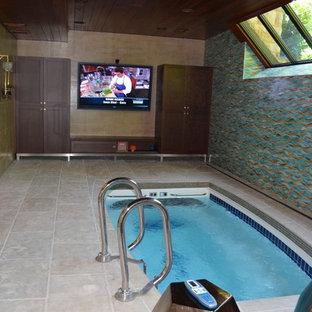 Indoor Pool/Media Room