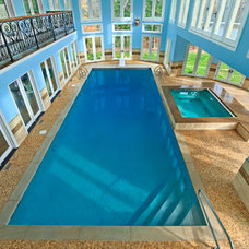 Traditional Pool by Platinum Poolcare