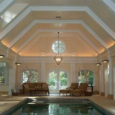 Traditional Pool by Well Done Building Products
