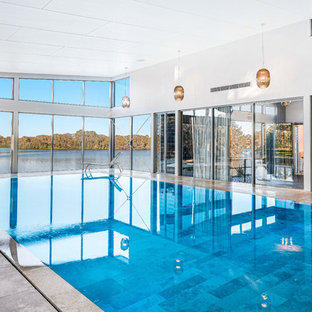 Indoor Pool - WINNER - Best Residential Pool 2019 - Master Builders Awards