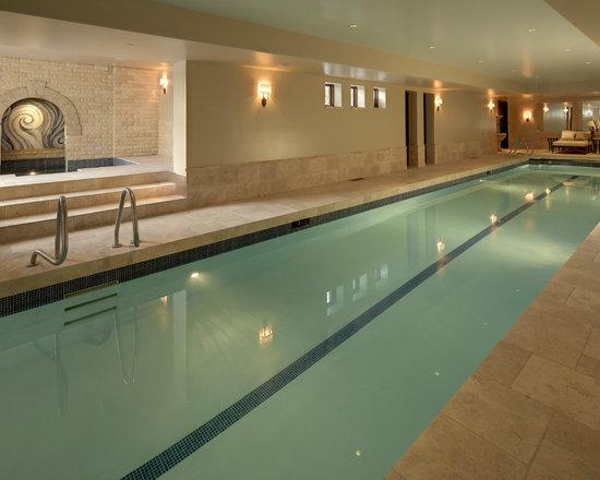 indoor lap pool   houzz