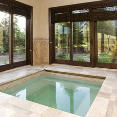 traditional pool by John Kraemer & Sons