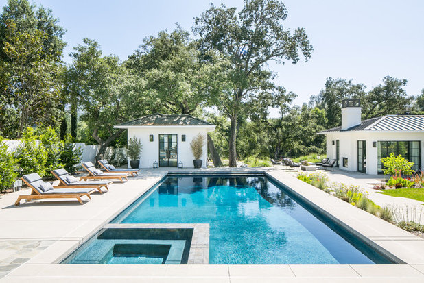 Contemporary Pool by Scribe Studio