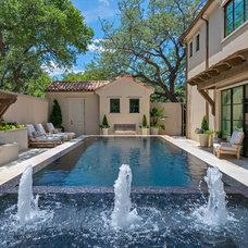 Mediterranean Pool by Harold Leidner Landscape Architects