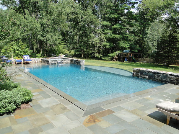 Contemporary Pool by Armond Aquatech Pools