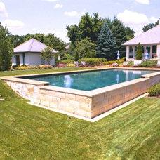 Traditional Pool by Armond Aquatech Pools