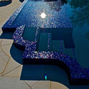 Infinity Edge Perimeter Overflow Pool Design in NJ