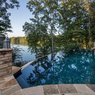 Infinity Edge Pool on Lake Lanier