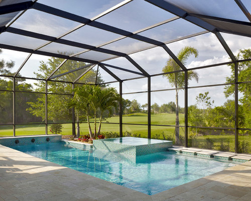 Best Covered Pool Design Ideas Remodel Pictures Houzz