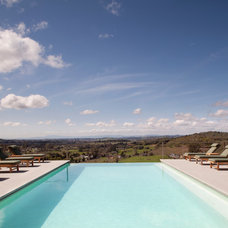 Contemporary Pool by Remick Associates Architects + Master Builders