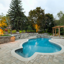 Contemporary Pool by The Pool Craft Company