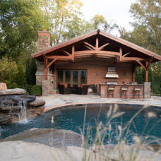 Rustic Pool by Tranquility Pools Inc.