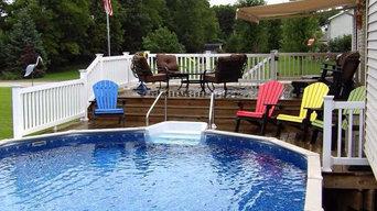 Inground pool.