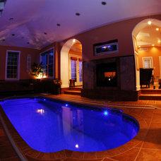 Mediterranean Pool by Goodall Pools & Spas