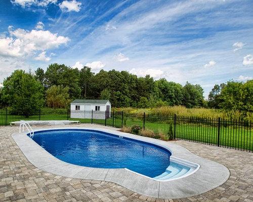 Rustic ottawa pool design ideas remodels photos for Pool design ottawa