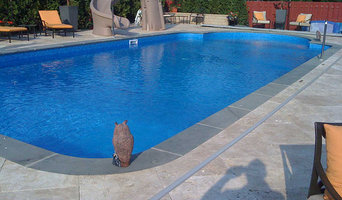 Inground Swimming Pool & Spa with Slide