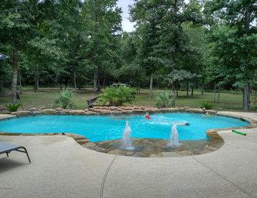Inground Swimming Pool Construction Conroe, TX