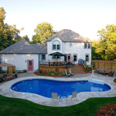 Traditional Pool by Central Jersey Pools