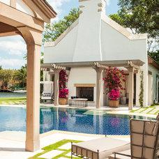 Mediterranean Pool by Taylor & Taylor, Inc.