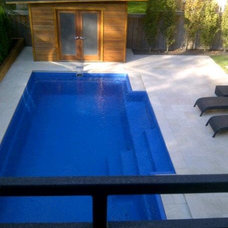 Modern Pool by Inspired Spaces Design