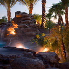 Tropical Pool by Red Rock Pools and Spas and Red Rock Contractors
