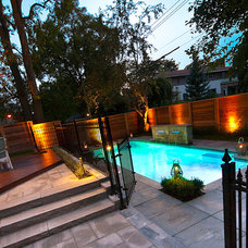 Modern Pool by Plantenance Landscape Group
