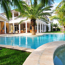 Traditional Pool by Retro Interiors