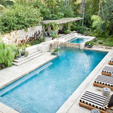 mediterranean pool by MTLA- Mark Tessier Landscape Architecture
