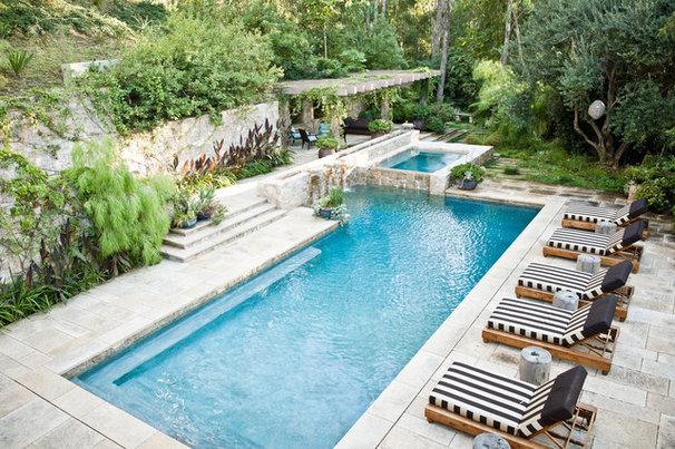 Mediterranean Pool by MTLA- Mark Tessier Landscape Architecture