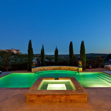 Traditional Pool by Fine Focus Photography