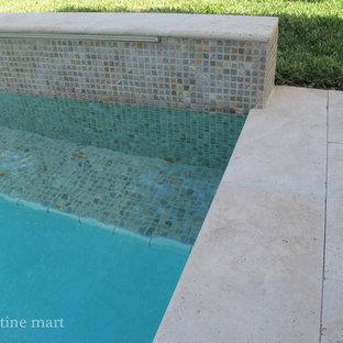 Travertine Pool Coping Houzz