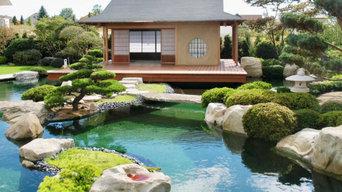 Japanisches Teehaus mit 2 Räumen