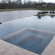 Contemporary Pool by Landscape Architect