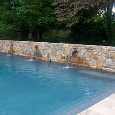 Pool by Jeremy Russell Stone Masonry, LLC.