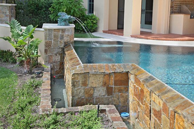 Traditional Pool by John McDonald Company