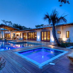 modern pool by josh wynne construction