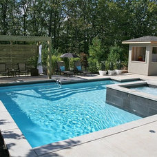 Contemporary Pool by Seferian Design Group