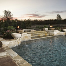 Traditional Pool by Glendarroch Homes