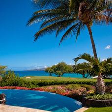 Tropical Pool by Eklektik Interiors
