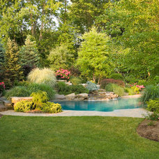 Traditional Pool by Cording Landscape Design
