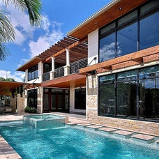 Tropical Pool by kevin akey - azd architects - michigan
